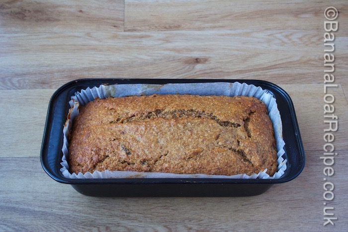 Banana and Pumpkin Loaf Fresh from the Oven