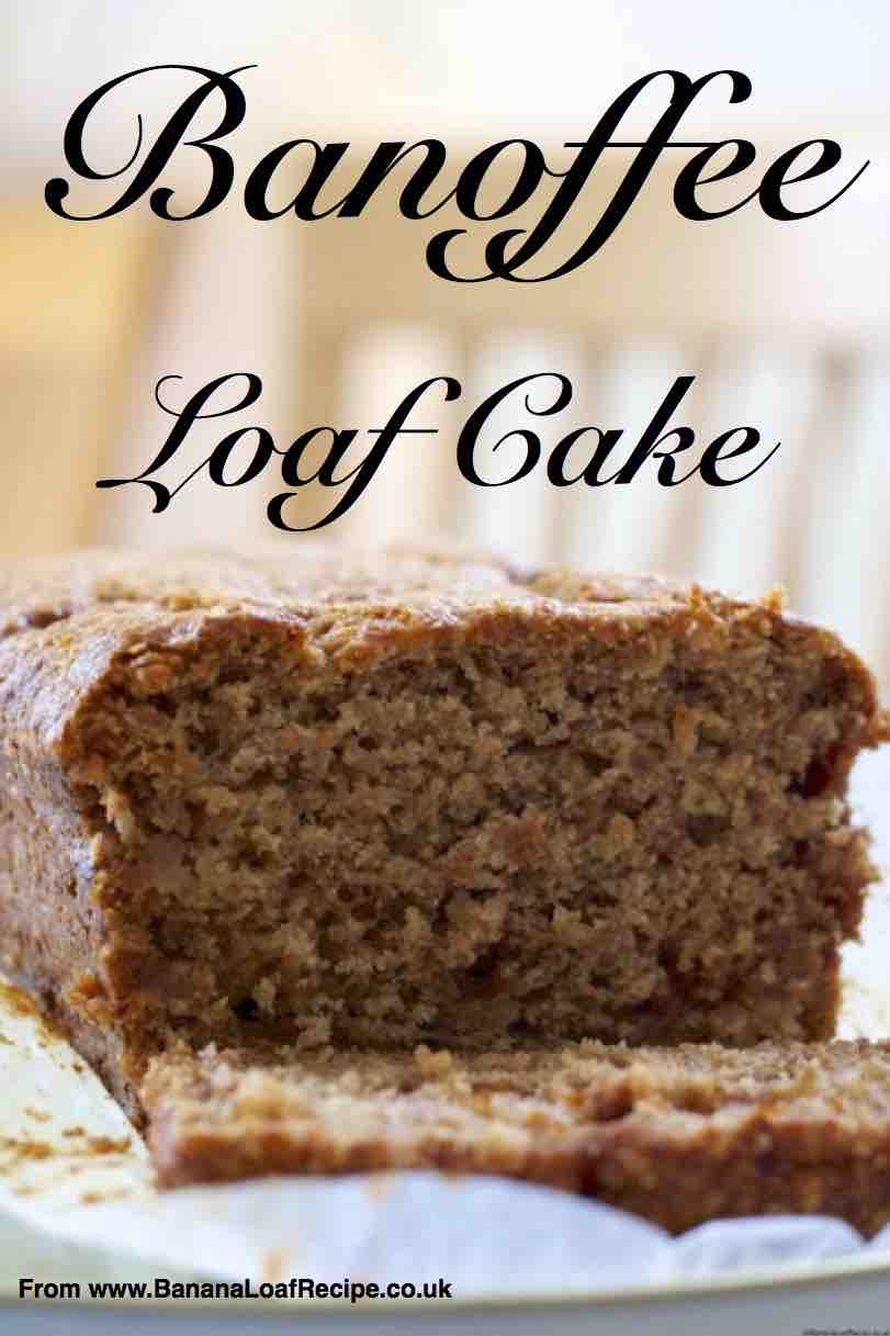 Banoffeee Loaf Cake