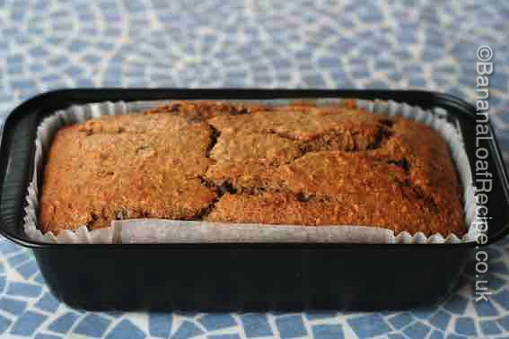 Spiced Choc Chip Banana Loaf
