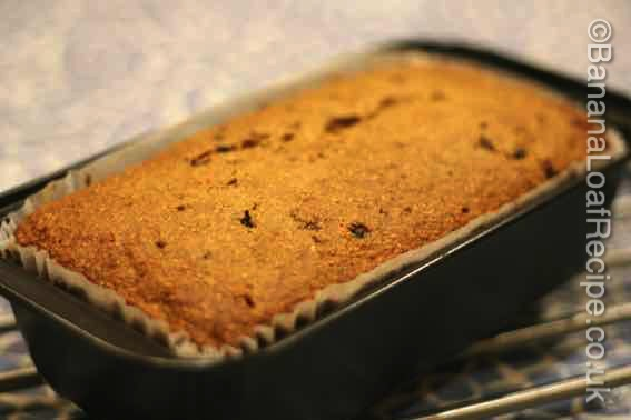 Fat-free Banana Loaf Cake