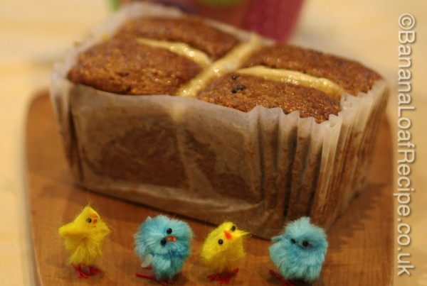 Hot Cross Easter Cake Recipe